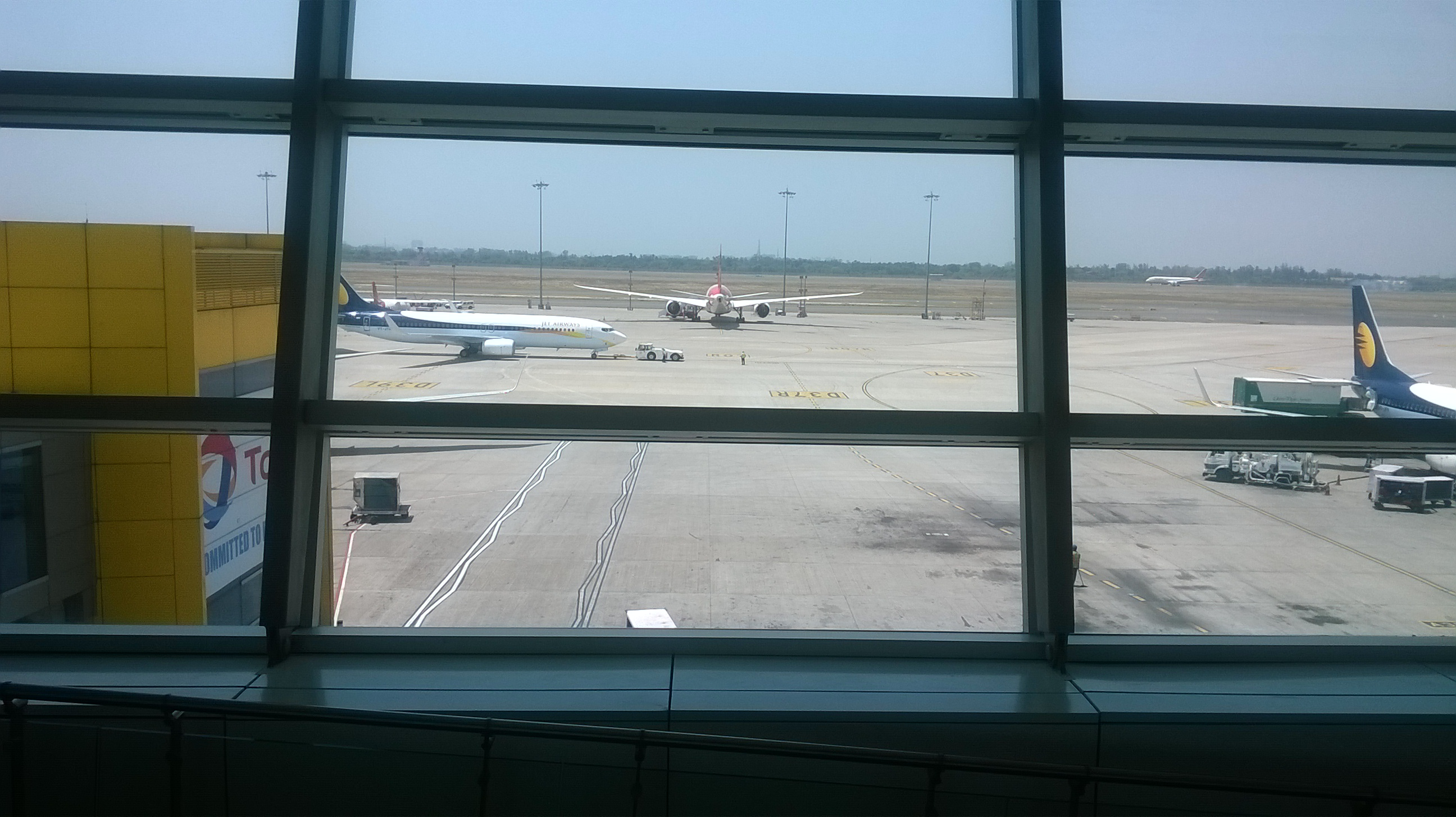 A view of Runway from IGI T3